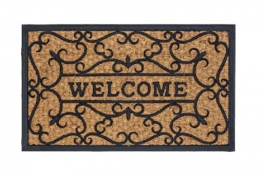 Astra Türmatte Relief Welcome Coco Deluxe Light 45x75cm