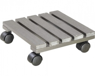 Wagner Multi Roller Pappel  25x25x8 cm, silber